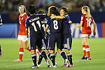 U-20U-20 Women's Japan Team Group (JPN), .AUGUST 26, 2012 - Football / Soccer : .FIFA U-20 Women's World Cup Japan 2012, Group A .match between Japan 4-0 Switzerland .at National Stadium, Tokyo, Japan. .(Photo by Daiju Kitamura/AFLO SPORT)