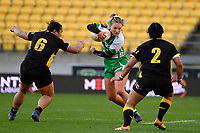 Carys Dallinger of the Manawatu during the Farah Palmer Cup Rugby – Wellington v Manawatu at Sky Stadium, Wellington, New Zealand on Friday 25 September 2020. <br /> Photo by Masanori Udagawa. <br /> www.photowellington.photoshelter.com