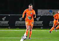 Lobke Loonen (19) of AA Gent pictured during a female soccer game between  Racing Genk Ladies and AA Gent Ladies on the eleventh matchday of the 2020 - 2021 season of Belgian Scooore Womens Super League , friday 22 th of January 2021  in Genk , Belgium . PHOTO SPORTPIX.BE | SPP | DAVID CATRY