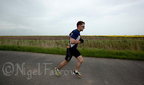 16 MAY 2010 - LYDD, GBR - The Marshman Triathlons .(PHOTO (C) NIGEL FARROW)