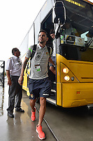 Orlando, FL - Monday June 06, 2016: Bolivia arrives at the stadium prior to a Copa America Centenario Group D match between Panama (PAN) and Bolivia (BOL) at Camping World Stadium.