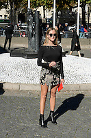 Valentina Ferragni - Show MIU MIU - Paris Fashion Week Womenswear Spring/Summer 2017 - 5 octobre 2016 - FRANCE