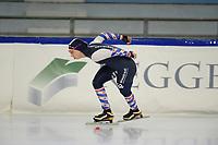 SCHAATSEN: HEERENVEEN: 10-10-2020, KNSB Trainingswedstrijd, Jildou Schaaf, ©foto Martin de Jong