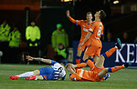 09.02.2019: Kilmarnock v Rangers : Alan Power and Ross McCrorie clash heads