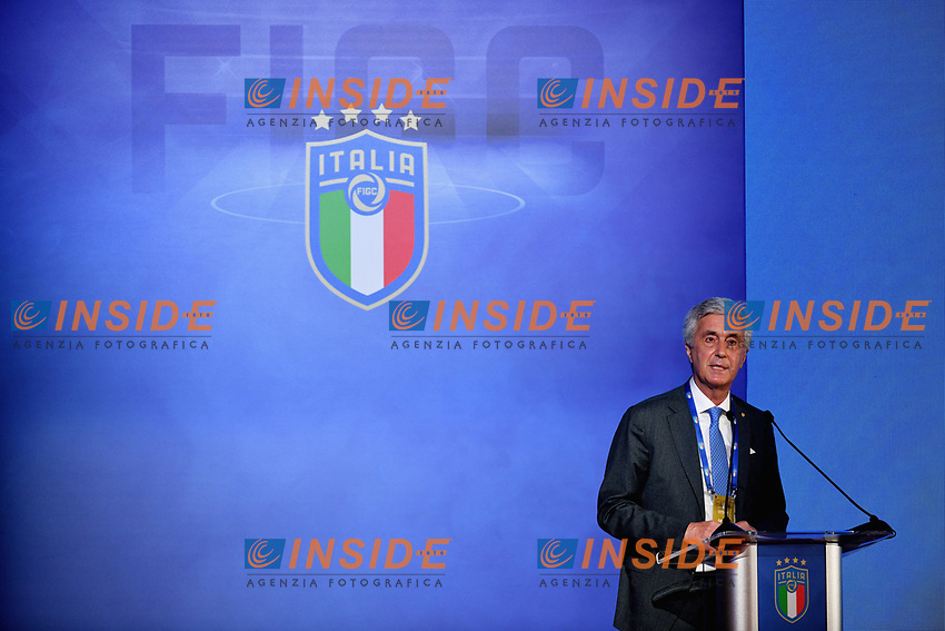 ROME, ITALY - FEBRUARY 22:  FIGC Vice President Cosimo Sibilia attends the FIGC Elective Assembly at Cavalieri Waldorf Astoria Hotel on February 21, 2021 in Rome, Italy.  <br /> Photo Marco Rosi / FIGC / Insidefoto