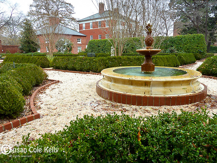 The Robert Mills House in Columbia, SC, USA