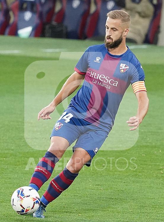 SD Huesca's Jorge Pulido during La Liga match. September 30,2020. (ALTERPHOTOS/Acero)