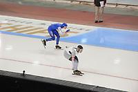 SPEEDSKATING: 15-02-2020, Utah Olympic Oval, ISU World Single Distances Speed Skating Championship,  5000m Ladies, Sofie Karoline Haugen (NOR), Claudia Pechstein (GER), ©photo Martin de Jong