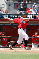 Mitch Blackburn - 2009 San Diego State Aztecs playing against the Texas Christian Horned Frogs at Tony Gwynn Stadium, San Diego, CA - 04/25/2009 .Photo by:  Bill Mitchell/Four Seam Images