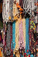 Bodhnath, Nepal.  Bead Necklaces, Rosaries, Prayer Beads.