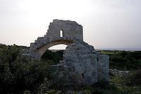 Nordzypern, frühchristliche Kirche in Afendrika (Aphendrika), Karpaz-Halbinsel (Karpasia)