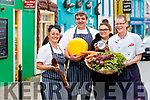 Louise Brosnan, Nicky Foley and Erin Foley with Michael Murphy pictured at the launch of the Dingle Food Fair on Friday last.