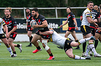 Abbas Miski of London Broncos during the Betfred Challenge Cup match between London Broncos and York City Knights at The Rock, Rosslyn Park, London, England on 28 March 2021. Photo by Liam McAvoy.