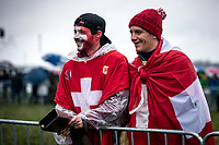 Swiss fans, <br /> <br /> Women's U23 race<br /> UCI 2020 Cyclocross World Championships<br /> Dübendorf / Switzerland<br /> <br /> ©kramon