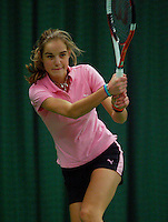 10-3-06, Netherlands, tennis, Rotterdam, National indoor junior tennis championchips, Arantxa Rus
