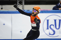 SHORT TRACK: TORINO: 14-01-2017, Palavela, ISU European Short Track Speed Skating Championships, Semifinals 500m Men, Sjinkie Knegt (NED), ©photo Martin de Jong