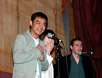 July,24, 2000 Montreal, Quebec, Canada<br /> HK actor Lau Ching-Wan attend a  presentation of Johnny To movie ;  Running Out of Time at the 5th FantAsia Film Festival in Montreal, on July 24, 2000.<br /> Photo by Pierre Roussel - Images Distribution