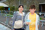 Cian Lovett Kenmare who received  his vaccine in Killarney on Tuesday with his mother Fiona Lovett