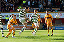 CELTIC'S ANTHONY STOKES SCORES CELTIC'S FIRST