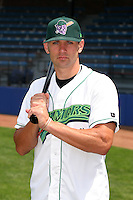 Jamestown Jammers Jacob Blackwood poses for a photo before a NY-Penn League game at Russell Diethrick Park on July 1, 2006 in Jamestown, New York.  (Mike Janes/Four Seam Images)