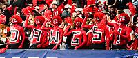 ATLANTA, GA - DECEMBER 7: Georgia fans during a game between Georgia Bulldogs and LSU Tigers at Mercedes Benz Stadium on December 7, 2019 in Atlanta, Georgia.