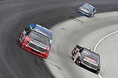 #51: Chandler Smith, Kyle Busch Motorsports, Toyota Tundra JBL and #19: Derek Kraus, McAnally Hilgemann Racing, Toyota Tundra SHOCKWAVE/ENEOS