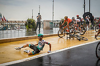 29th August 2020, Nice, France;  KAMNA Lennard of BORA - hansgrohe during stage 1 of the 107th edition of the 2020 Tour de France cycling race, a stage of 156 kms with start in Nice Moyen Pays and finish in Nice