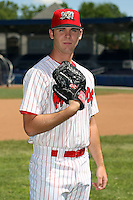 June 30th, 2007:  J.D. Stambaugh of the Batavia Muckdogs, Short-Season Class-A affiliate of the St. Louis Cardinals at Dwyer Stadium in Batavia, NY.  Photo by:  Mike Janes/Four Seam Images