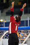 Ahmad Zeividavi, Toronto 2015 - Goalball.<br /> Canada's men's Goalball team plays in the bronze medal game // L'équipe masculin de goalball du Canada participe au match pour la médaille de bronze. 15/08/2015.