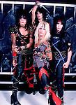 Motley Crue 1983 Nikki Sixx, Tommy Lee, Vince Neil and Mick Mars