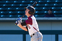 Eric Carter (5) of Sky View High School in North Logan, Utah during the Baseball Factory All-America Pre-Season Tournament, powered by Under Armour, on January 13, 2018 at Sloan Park Complex in Mesa, Arizona.  (Freek Bouw/Four Seam Images)