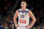 Real Madrid's player Jaycee Carroll during match of Turkish Airlines Euroleague at Barclaycard Center in Madrid. November 24, Spain. 2016. (ALTERPHOTOS/BorjaB.Hojas)