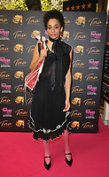 """Celeste (Celeste Epiphany Waite) at the """"Tina: The Tina Turner Musical"""" Refuge gala performance, Aldwych Theatre, Aldwych, on Sunday 10th October 2021, in London, England, UK. <br /> CAP/CAN<br /> ©CAN/Capital Pictures"""