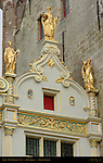 Aaron, Civil Registry Renaissance Facade 1543, Burg Square, Bruges, Brugge, Belgium