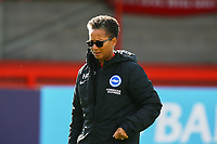 Brighton & Hove Albion manager Hope Powell during Brighton & Hove Albion Women vs Arsenal Women, Barclays FA Women's Super League Football at Broadfield Stadium on 11th October 2020