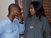 LOS ANGELES, CA, USA - SEPTEMBER 04: Tim Witherspoon, Kelly Rowland attend Kelly Rowland's New TW Steel Canteen Bracelet Watch Showcase at Feldmar Watch Company on September 4, 2014 in Los Angeles, California, United States. (Photo by Xavier Collin/Celebrity Monitor)