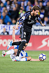 Sergio Ramos of Real Madrid in action during their La Liga match between Deportivo Leganes and Real Madrid at the Estadio Municipal Butarque on 05 April 2017 in Madrid, Spain. Photo by Diego Gonzalez Souto / Power Sport Images