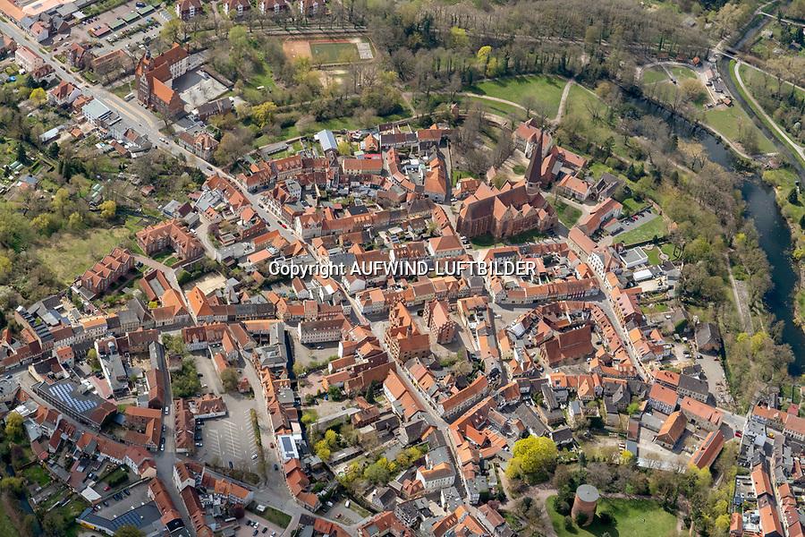 Salzwedell: DEUTSCHLAND, SACHSEN-ANHALT, (GERMANY, SAXONY-ANHALT), 24.04.2021: Salzwedel