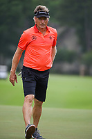 April 29th 2021, The Woodlands, Texas USA;  Bernhard Langer heads for the tee on 3 during the preview of the 2021 Insperity Invitational at The Woodlands Country Club on April 29, 2021 in The Woodlands, Texas.