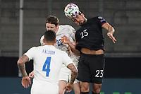 Kopfball Emre Can (Deutschland Germany) - 25.03.2021: WM-Qualifikationsspiel Deutschland gegen Island, Schauinsland Arena Duisburg