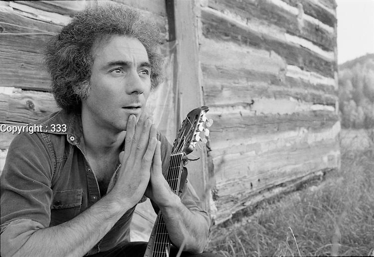 Le musicien Jean-Pierre Berube, date inconnue<br /> <br /> <br /> PHOTO :  Agence Quebec Presse