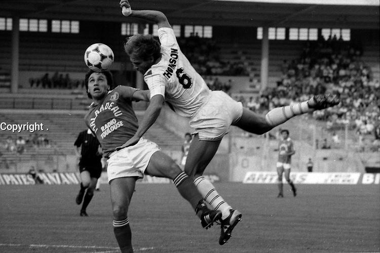 16 juillet 1985. L'équipe du Toulouse Football Club rencontre l'équipe de Nancy.