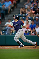 Binghamton Rumble Ponies Michael Paez (7) at bat during an Eastern League game against the Richmond Flying Squirrels on May 29, 2019 at The Diamond in Richmond, Virginia.  Binghamton defeated Richmond 9-5 in ten innings.  (Mike Janes/Four Seam Images)