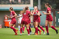 STANFORD, CA - September 3, 2017: Civana Kuhlmann at Cagan Stadium. Stanford defeated Navy 7-0.