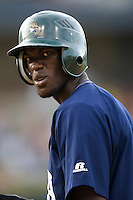 Maybin, Cameron 3186.jpg.  PCL baseball featuring the New Orleans Zephyrs at Round Rock Express  at Dell Diamond on June 19th 2009 in Round Rock, Texas. Photo by Andrew Woolley.