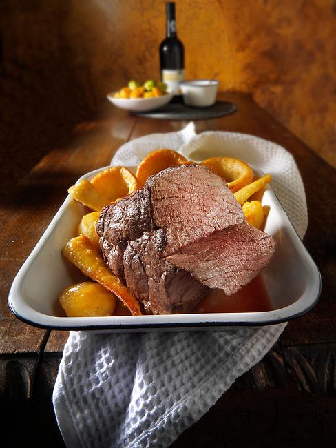 Roast beef stock photos