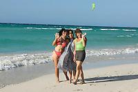 Cuba, am Strand von Varadero, Provinz Mantanzas