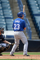 Toronto Blue Jays outfielder Austin Davis (23) during an Instructional League game against the New York Yankees on September 24, 2014 at George M. Steinbrenner Field in Tampa, Florida.  (Mike Janes/Four Seam Images)