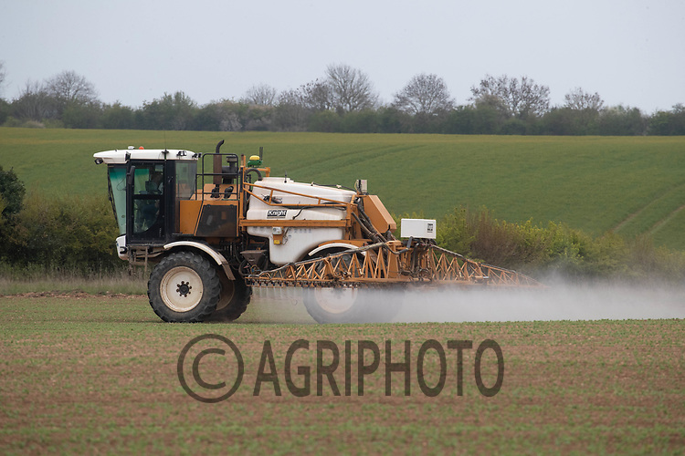 27-4-2021 Spraying Spring cereals at growth stage T0<br /> ©Tim Scrivener Photographer 07850 303986<br />      ....Covering Agriculture In The UK....