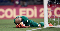 Calcio, Serie A: Roma, stadio Olimpico, 14 ottobre 2017.<br /> Napoli's goalkeeper José Manuel Reina in action during the Italian Serie A football match between Roma and Napoli at Rome's Olympic stadium, October14, 2017.<br /> UPDATE IMAGES PRESS/Isabella Bonotto